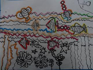 87号谭丹妮《奇怪的鱼》