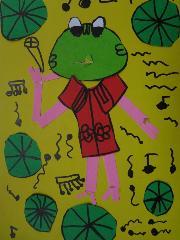 21欧阳含柳《青蛙爱唱歌》
